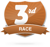 3 Races Completed